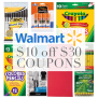 10 Off 30 Walmart Coupons Save On School Supplies