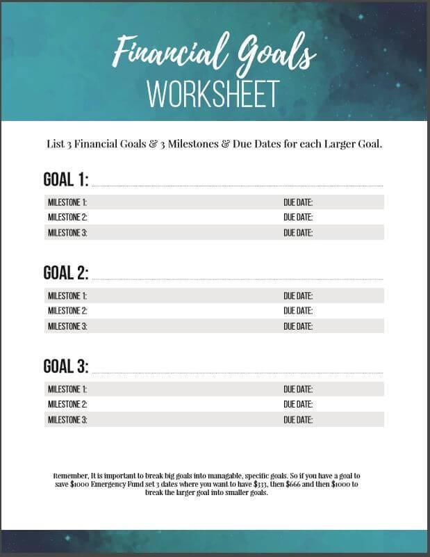 financial inventory worksheet excel