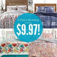 Macy's 3 Piece Twin Size Bedding Sets as low as $9.97!