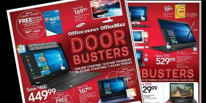 Office Depot Ad Office Depot Black Friday Ad  Coupons
