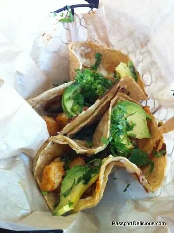 Shrimp Tacos, Frontera Fresco