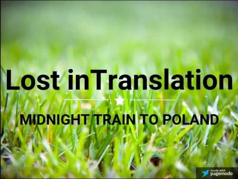 Midnight Train to Poland