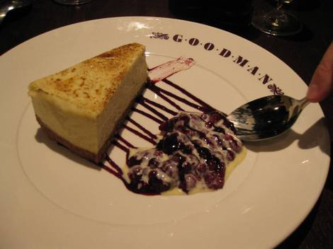 Goodman cheesecake