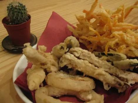 Itadaki zen tempura