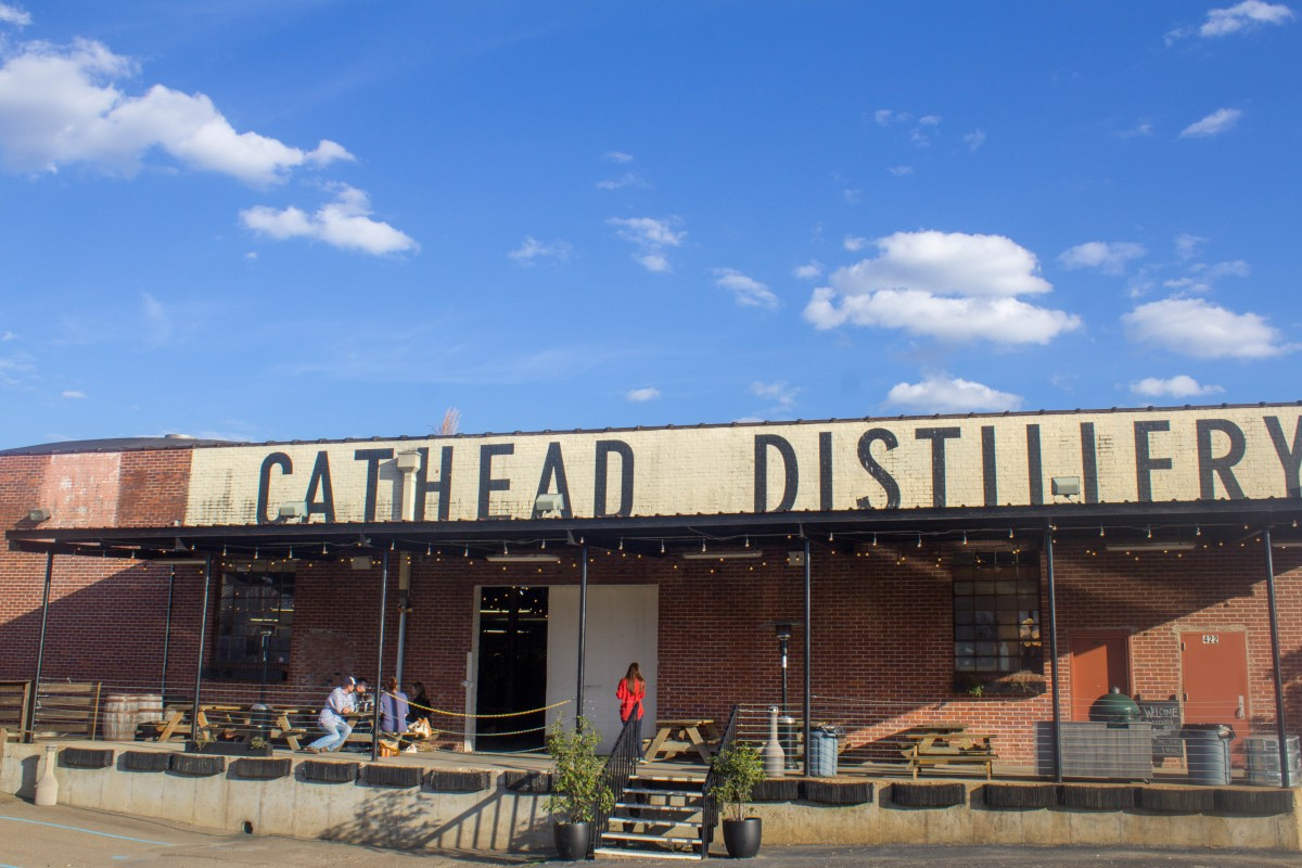 Cathead distillery  是  one of the most romantic things to do in 杰克逊 密西西比州