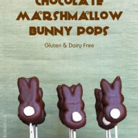 Chocolate Marshmallow Bunny Pops