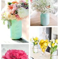 12 Gorgeous DIY Mason Jar Ideas For Flower Arrangements
