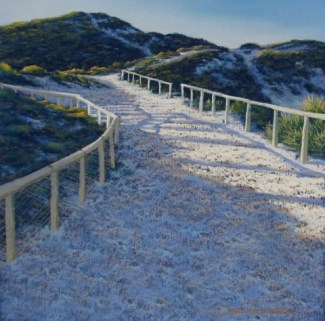 Julie Silvester - Pathway Fay's Bay Rottnest