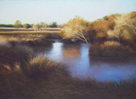 Linda O'Brien - Morning on the Wetlands