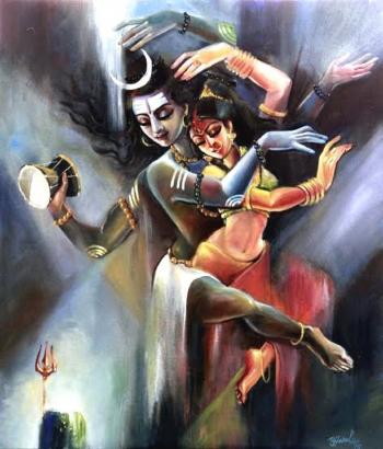 Shiv Shankar Hd Wallpaper The Divine Dance I By Ujjwal Debnath