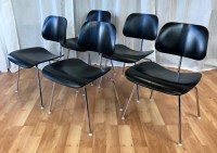 Eames for Herman Miller Ebony DCM Chairs ***SOLD*** - Past ...