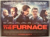 OUT OF THE FURNACE (2014) Original Cinema Quad Movie ...