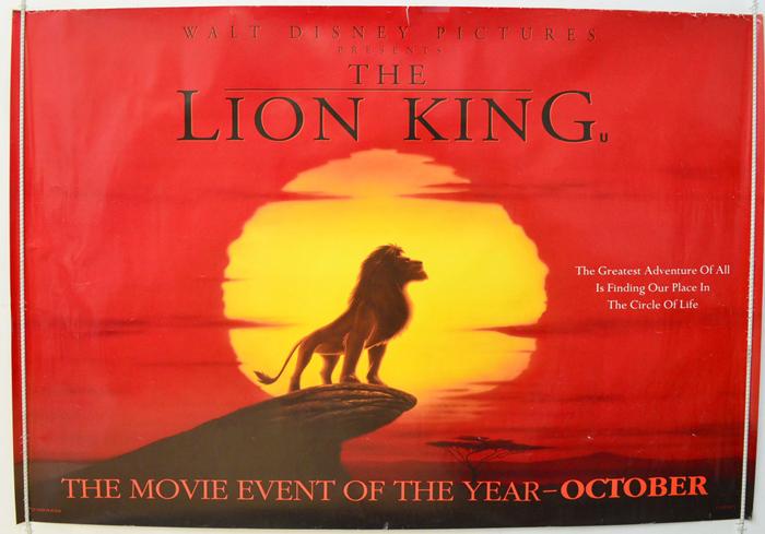the lion king original movie cast