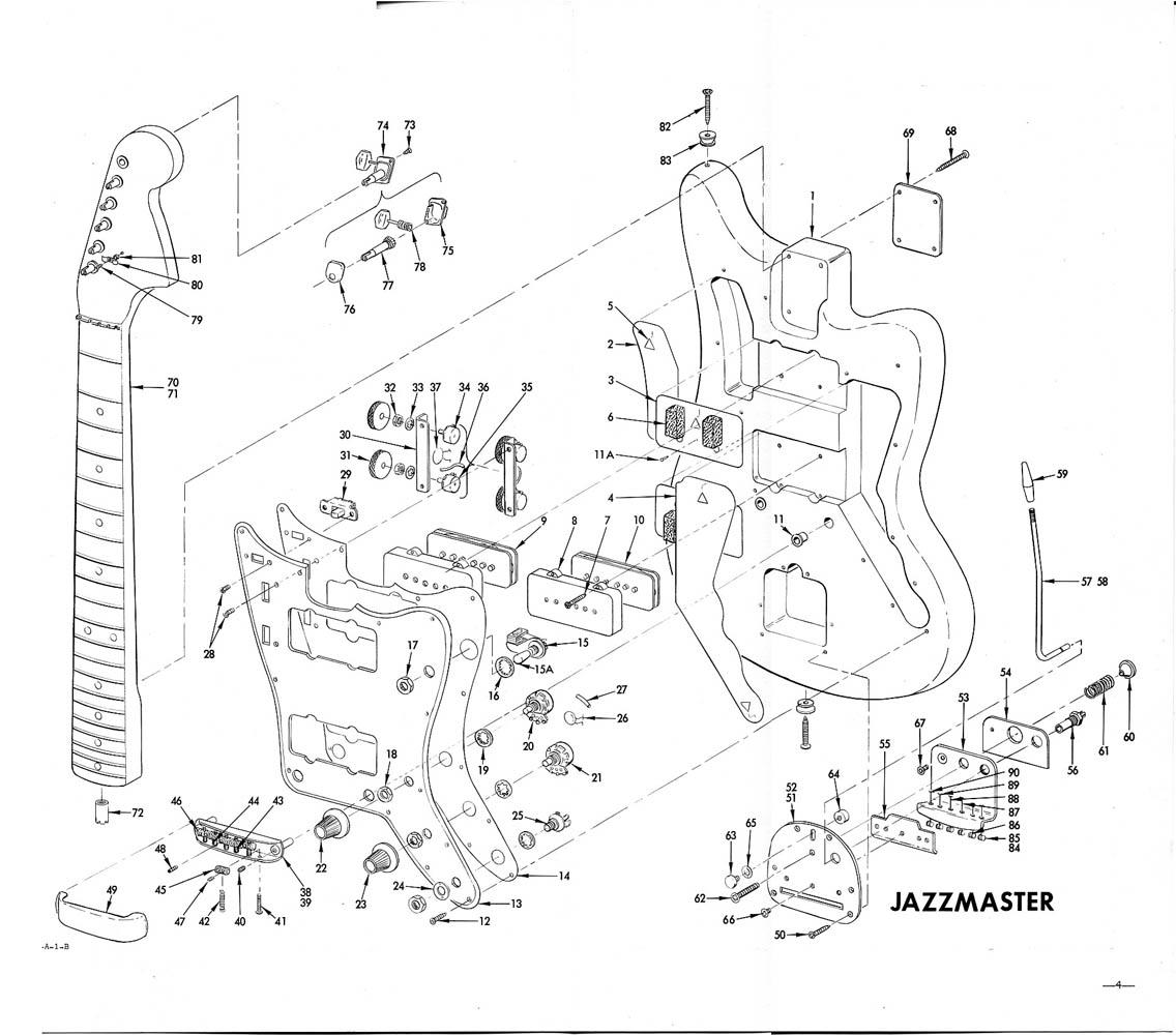 custom guitar diagrama de cableado