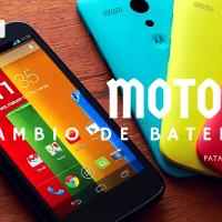 Cómo cambiar la batería de tu Moto G