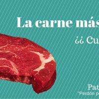 La carne más sana, ¿cuál es?