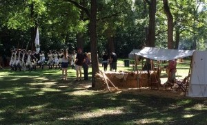 A River Thru History Rendezvous, 2016: Parade and Campground