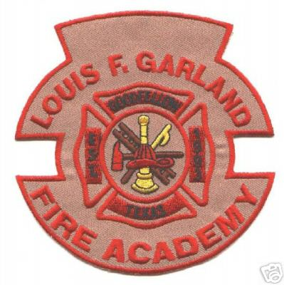 Texas - Louis F Garland Fire Academy - PatchGallery Online