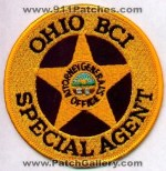 Ohio BCI Special Agent Patches