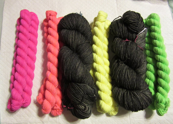 Yarn for Mim's Chevrons