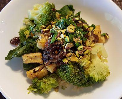 Broccoli with Tofu