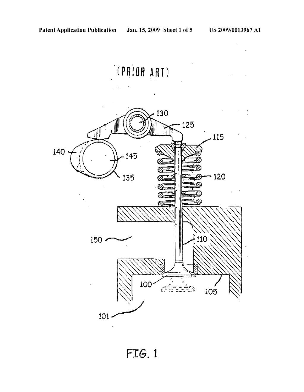 engine valve train diagram