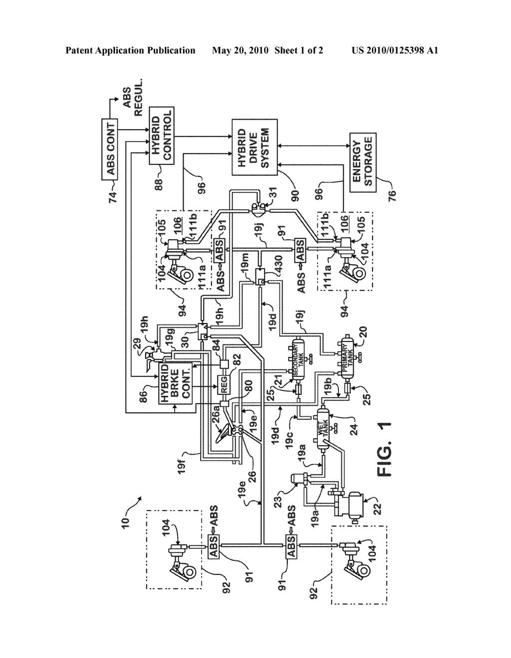regenerative braking system diagram
