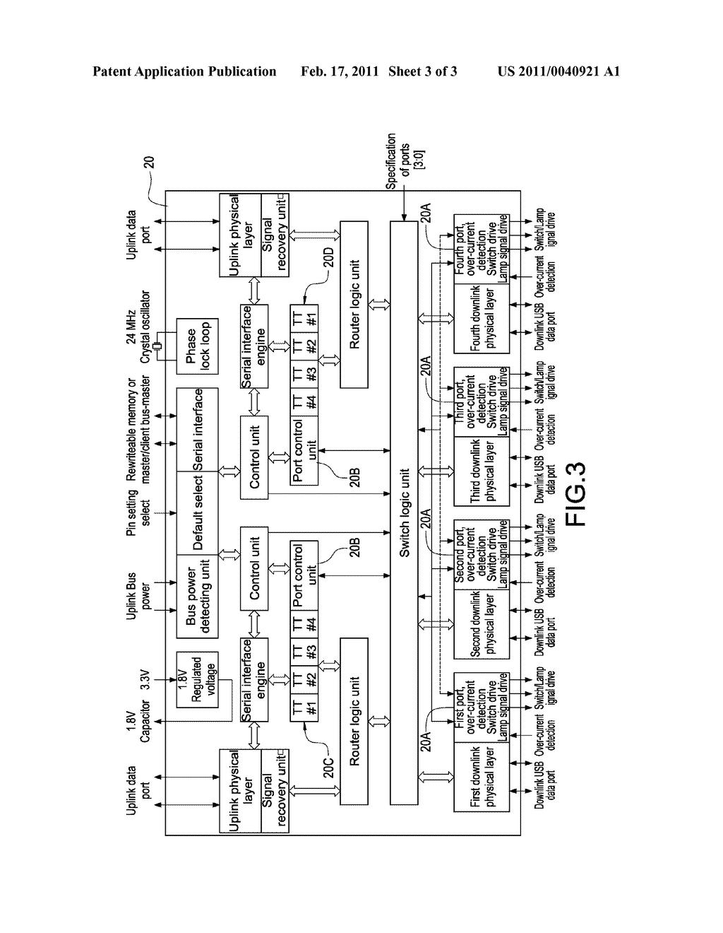 usb hub schematic