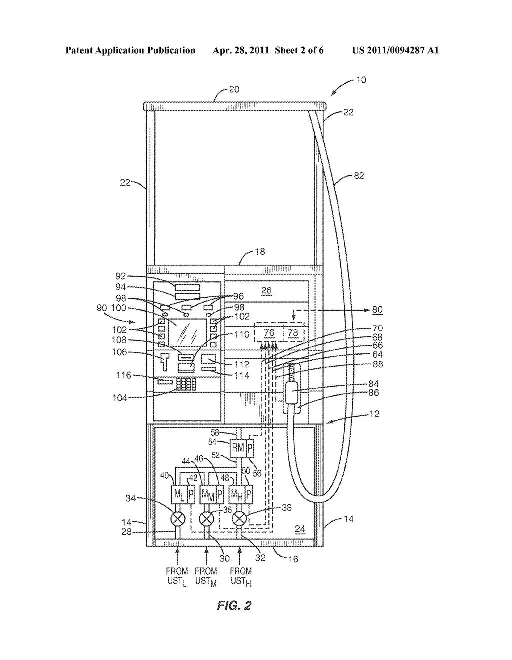 gas wiring diagram dispensing