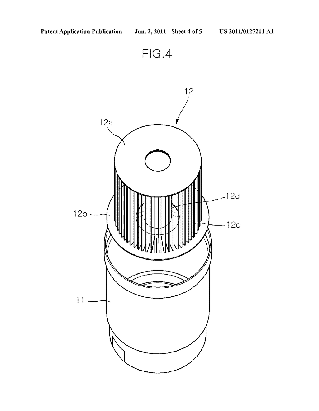 inline fuel filter micron