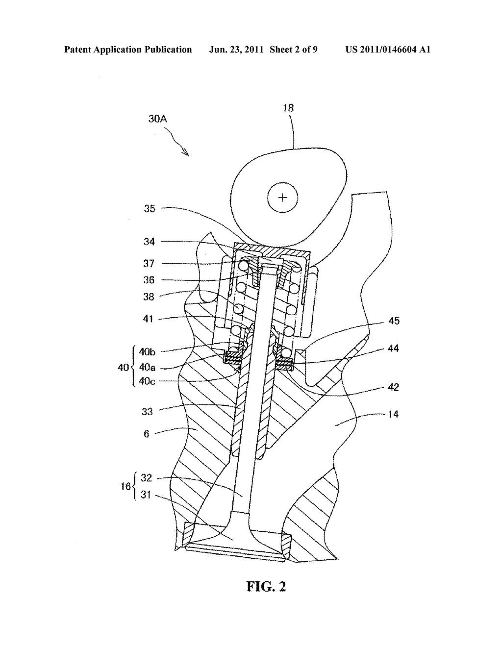 engine valve guide diagram