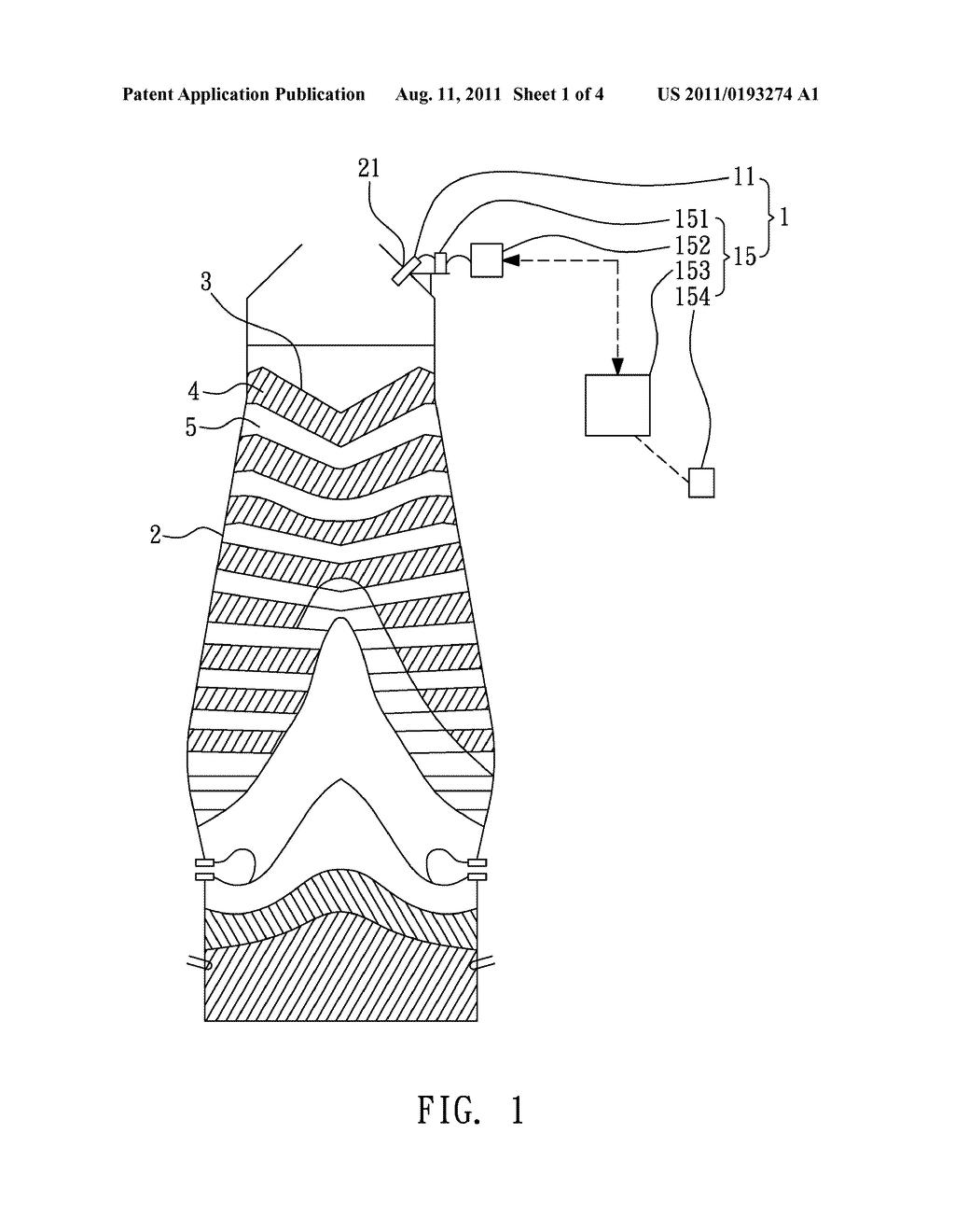 Blast Furnace Schematic Diagram