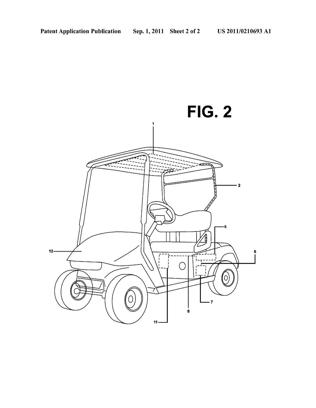 12 volt golf cart battery wiring diagram