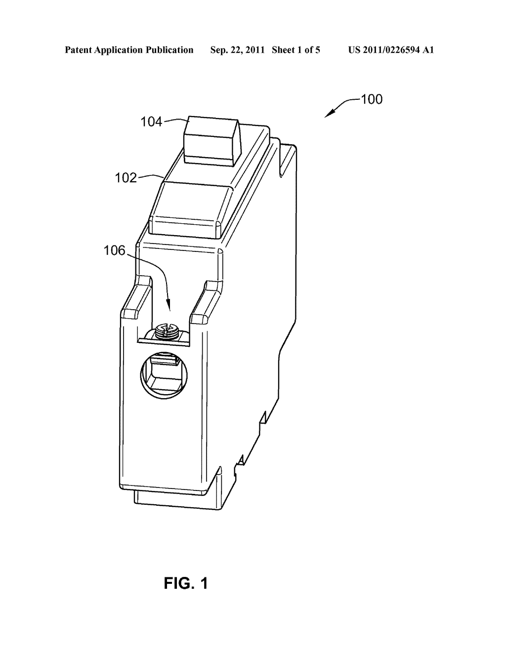 ressettable electronic fuse circuit breaker circuit for securing