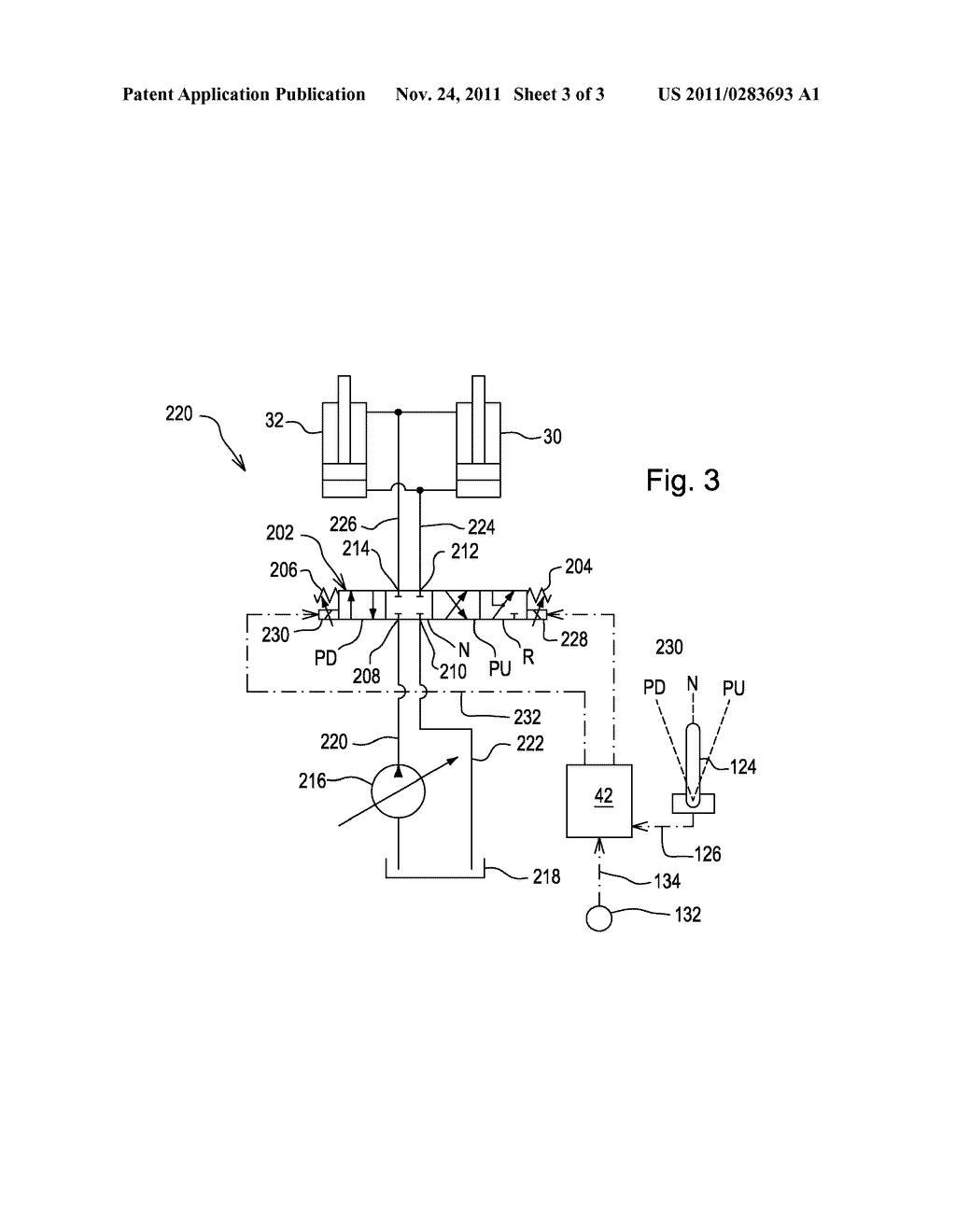 skid steer hydraulic system schematic