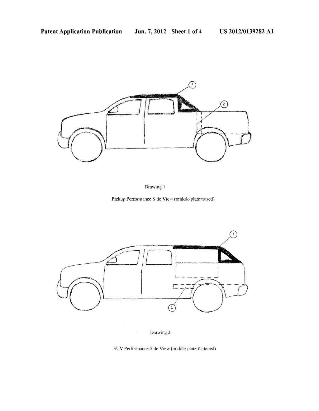 suv damage diagram