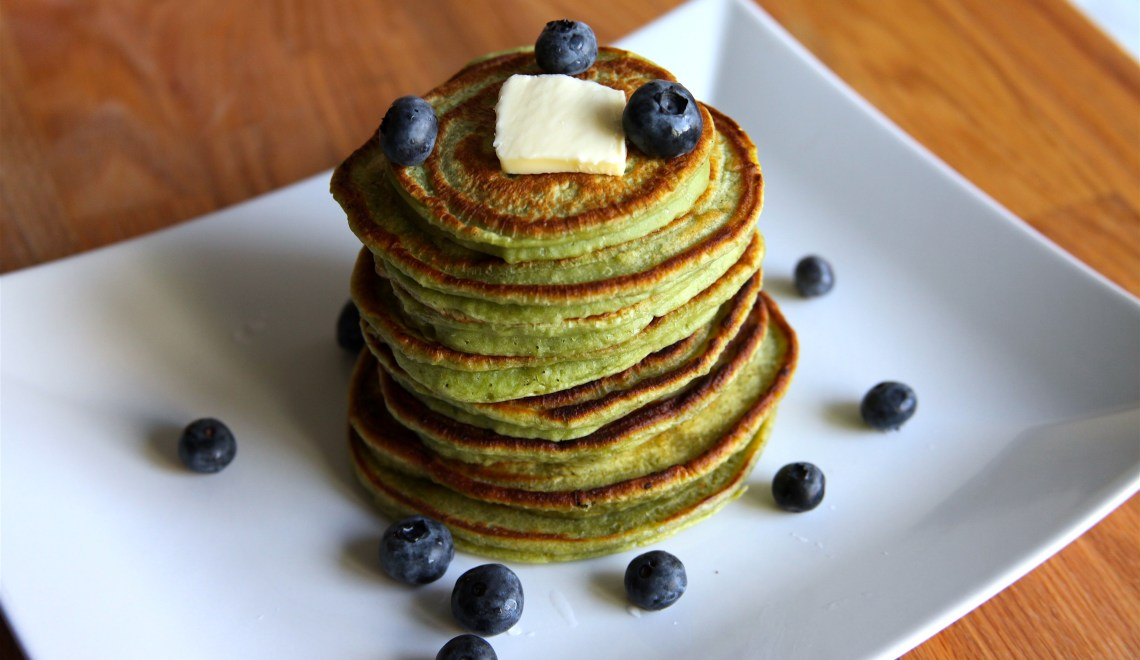 Easy Matcha Pancakes Recipe