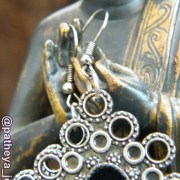 Detail of earring