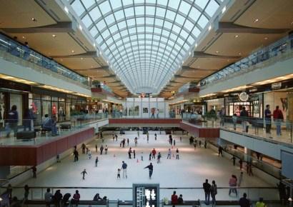 Ice Skating in Galleria
