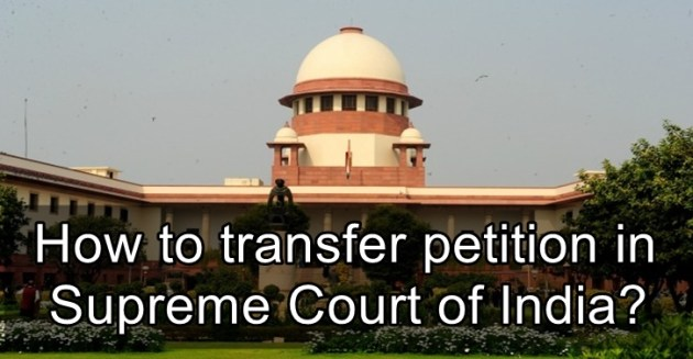 Transfer Petition in Supreme Court