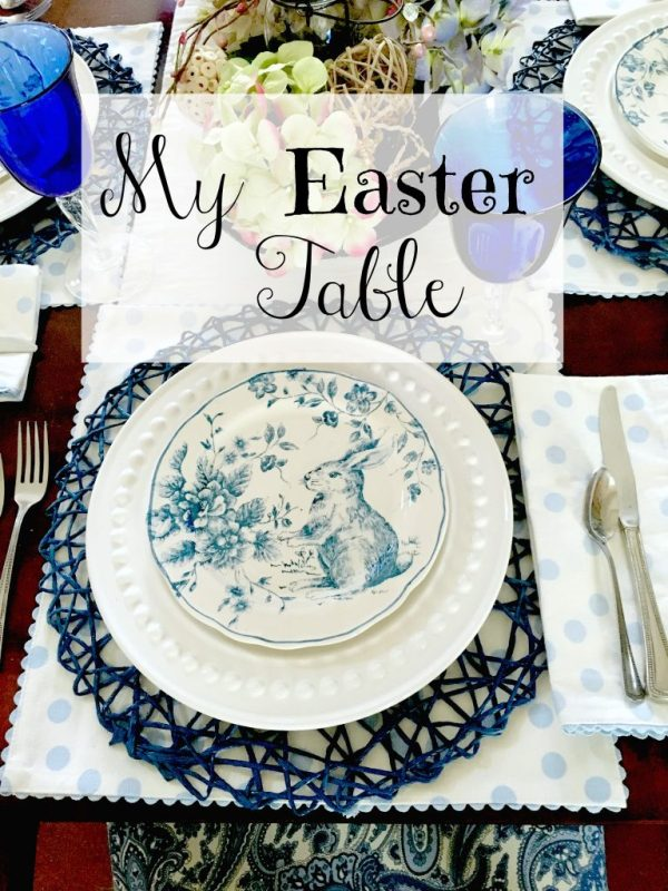 Easter table 2.7