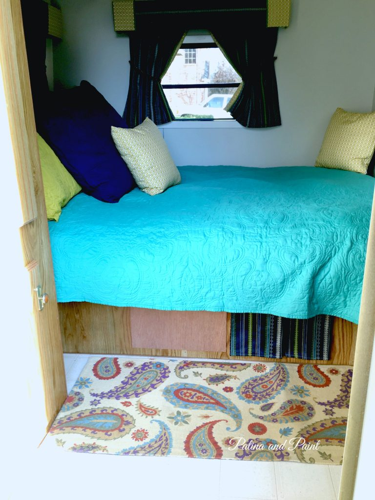 think ryan s rv bedroom and bathroom are just perfect for him