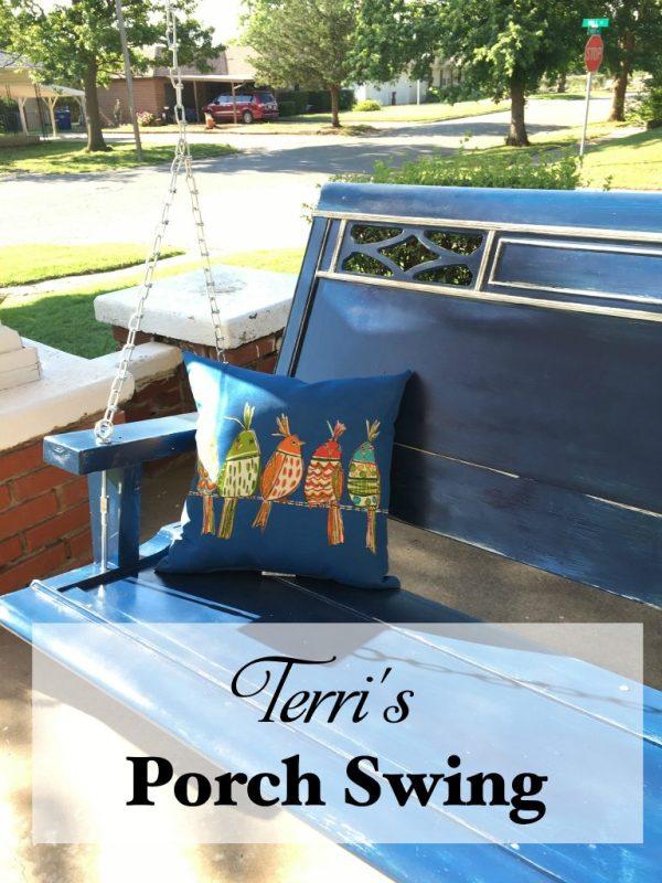Terri's Porch Swing 9