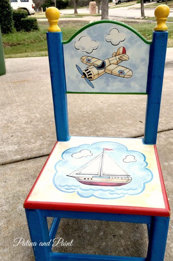 painted children's table 6