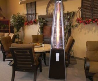 Resort Model 40000 Btu Pyramid Style Glass Tube Flame