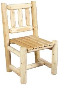Cedarlooks Cedar Log Rustic Dining Chair