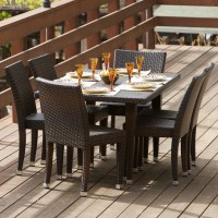 All-Weather Wicker 7-Piece Outdoor Patio Dining Set ...