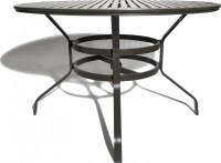 Strathwood Grand Isle 48-Inch Round Dining Table with ...