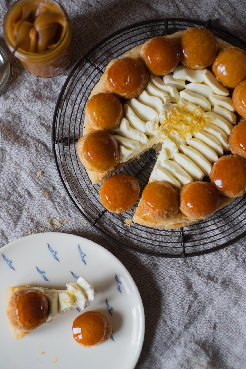 Salted Caramel St Honore | Patisserie Makes Perfect