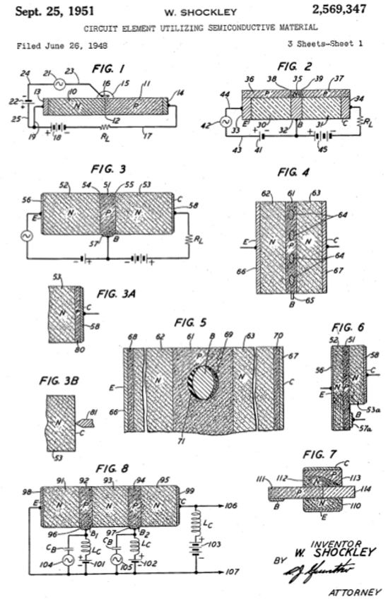 william b shockley patent transistor 1948 inventor building engineer - Building Engineer Resume